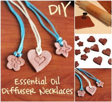 DIY Essential Oil Diffuser Necklace