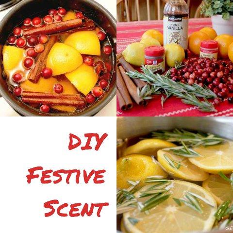 DIY Natural Festive Scent