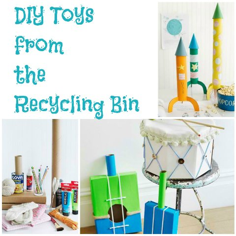 DIY Toys from the Recycling Bin