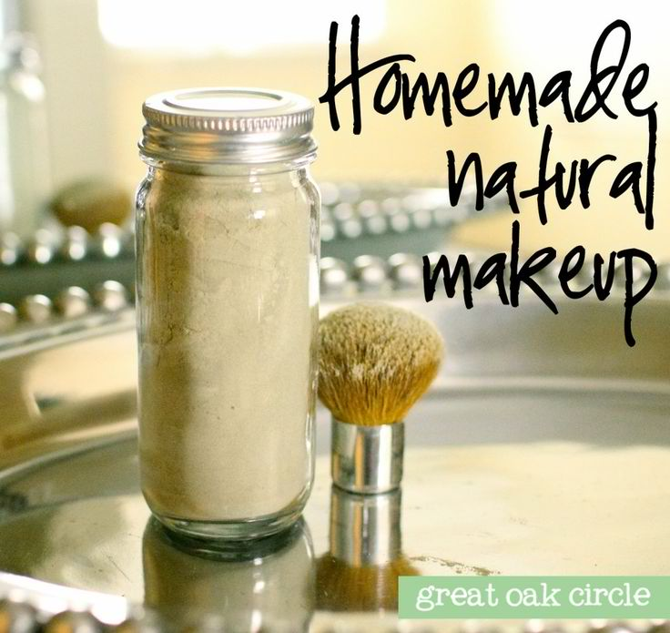 Homemade Organic Powder Makeup