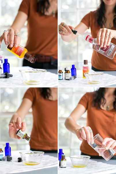 How To Make Citrus Sunshine Perfume