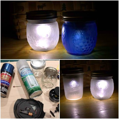 How to turn Mason jars into Solar Lights