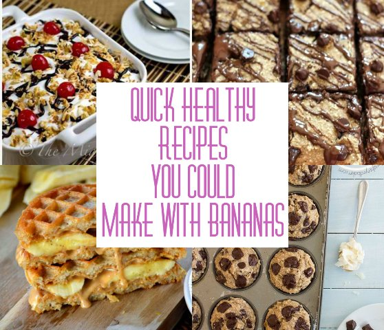 Quick Healthy Recipes You could Make With Banana