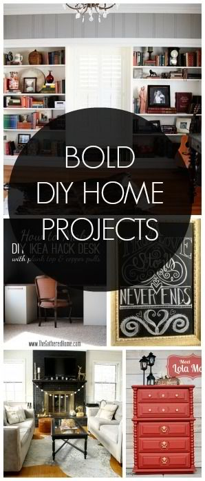 DIY Bold Home Projects