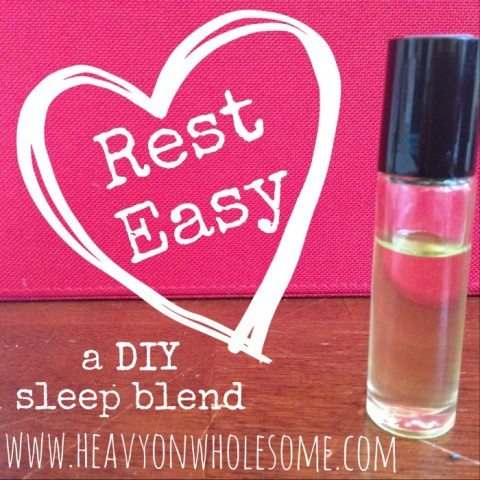 DIY Essential Oil Blend for Sleep