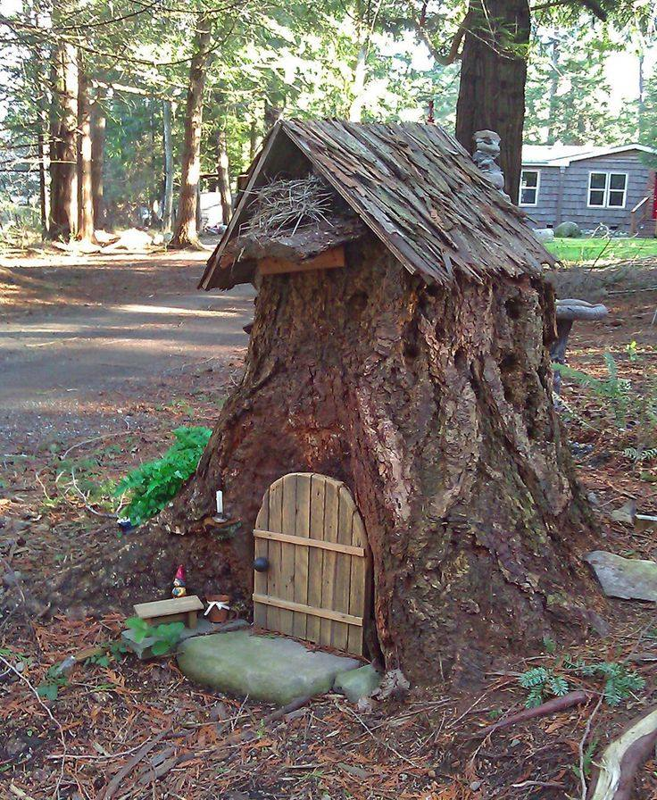 Diy fairy door for Large gnome doors