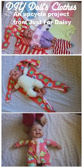 Easiest Handmade Doll's Clothes