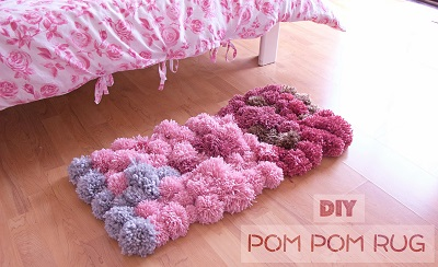 diy-pom-pom-rug-bedroom-decor-tutorial