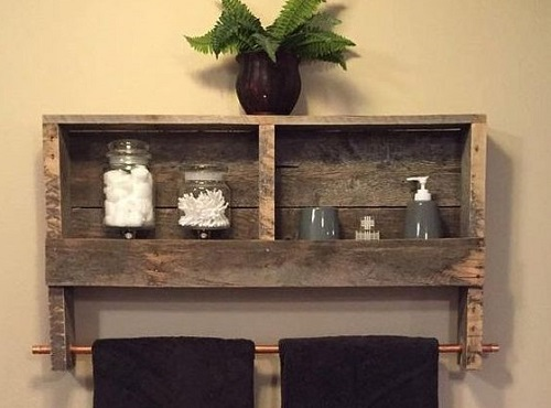 57 Bathroom Pallet Projects On a Budget
