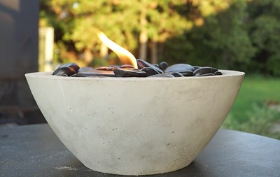 DIY Table Top Fire Bowls