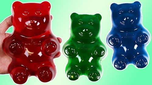 How to Make HUGE GUMMY BEAR Jello Treats