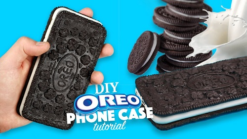 How to make an Oreo Phone Case