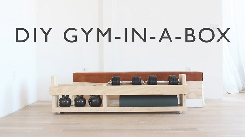 DIY Home Gym In A Box