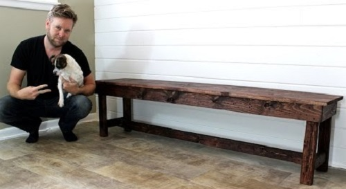 The $20 Farmhouse Bench