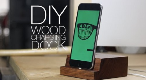 Make Wooden iPhone Charging Dock