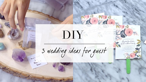 3 Wedding DIY