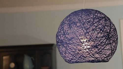 DIY Lampshade, Lantern and Yarn Globes