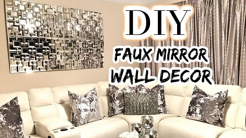 Dollar Tree DIY Faux Mirror