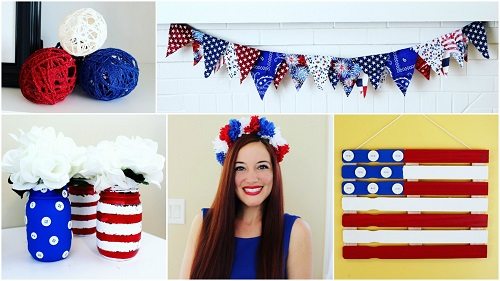 Cheap & Easy 4th of July Crafts