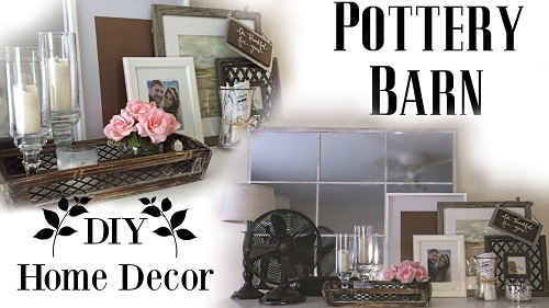 DIY Pottery Barn Living Room Decor