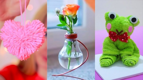 15 Easy Crafts Ideas at Home