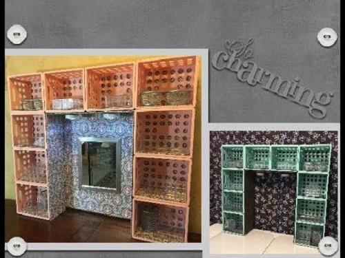 DIY Dollar TreeWalmart Desk or Dresser HutchVanity
