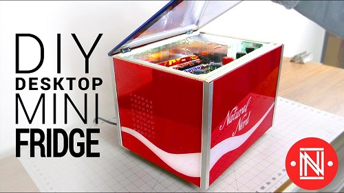 Making a Desktop Mini Fridge
