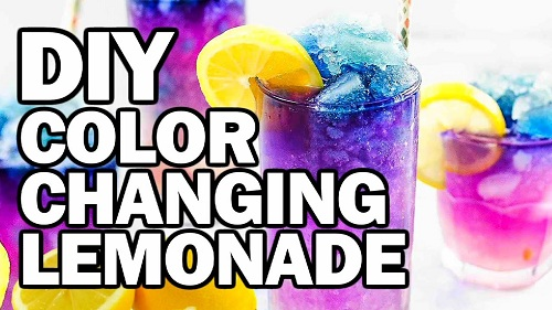 DIY Color Changing Lemonade
