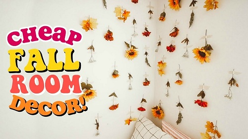 diy fall room decor ideas