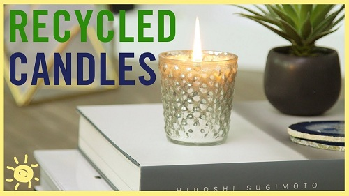 How to Recycle Old Candles