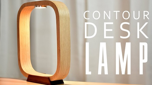 DIY Contour DESK Lamp