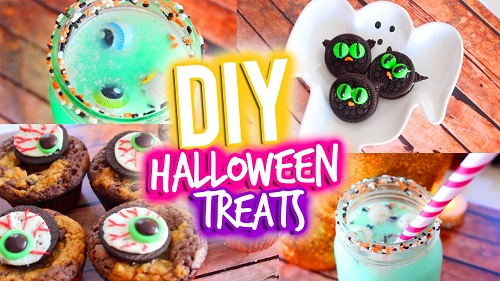 DIY Halloween Treats 2017