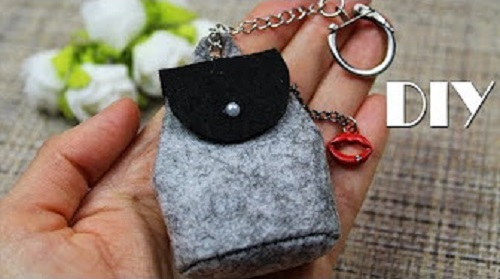 DIY Backpack Trinket Gift