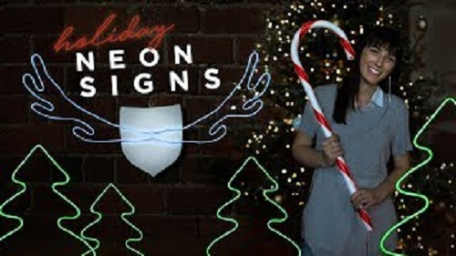 Neon Designs For The Holidays