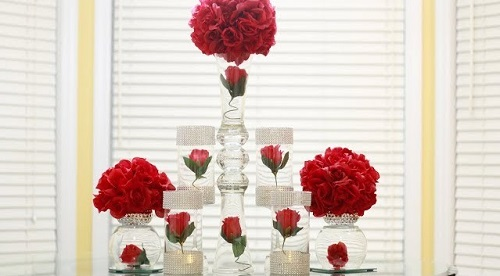 Dollar Tree Wedding Centerpiece