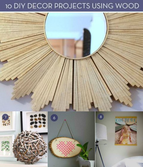 diy home decor cheap 10 affordable diy decor projects using wood 10730
